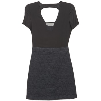 material Women Short Dresses Naf Naf EKLATI Black