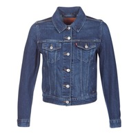 material Women Denim jackets Levi's ORIGINAL TRUCKER Blue / JEAN