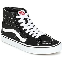Shoes Men High top trainers Vans SK8 HI Black / White