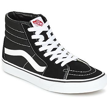 Shoes Men High top trainers Vans SK8 HI Black / White