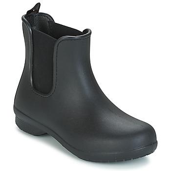 Shoes Women Mid boots Crocs CROCS FREESAIL CHELSEA Black