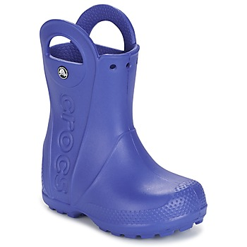 Shoes Children Wellington boots Crocs HANDLE IT RAIN BOOT Blue