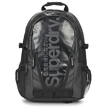 Bags Rucksacks Superdry MONO TARP BP Black