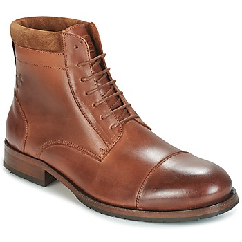 Shoes Men Mid boots Kost DRANSE 45 Cognac