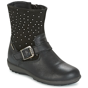 Shoes Girl Boots Primigi (enfant) PCIGT 8569 Black