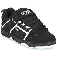 Shoes Men Low top trainers DVS COMANCHE Black / White