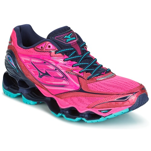 28df3574ced ... Shoes Women Running shoes Mizuno WAVE PROPHECY 6 (W) Pink ...
