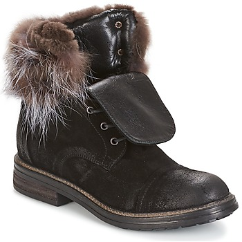 Shoes Women Mid boots Now BIANCA III Black