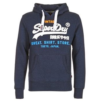 material Men sweatpants Superdry SHIRT STORE TRI Marine