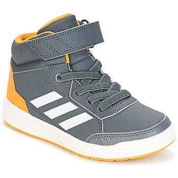 Shoes Boy High top trainers adidas Performance ALTASPORT MID EL K Grey