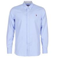 material Men long-sleeved shirts U.S Polo Assn. CALE Blue
