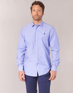 material Men long-sleeved shirts U.S Polo Assn. RUSTY Marine