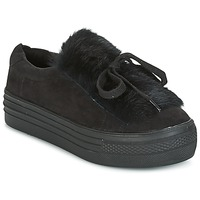 Shoes Women Low top trainers Coolway PLUTON Black
