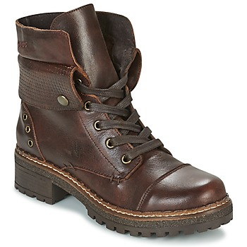 Shoes Women Mid boots Coolway HAMMER Brown