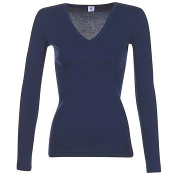 material Women Long sleeved shirts Petit Bateau LEOSA MARINE