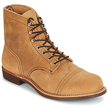 Shoes Men Mid boots Red Wing IRON RANGER Camel