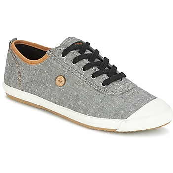 Shoes Men Low top trainers Faguo OAK01 Grey