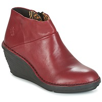 Shoes Women Mid boots Fly London SIPI 671 Red