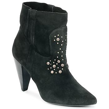 Shoes Women Ankle boots Ikks BOTTINE PAISLEY Black