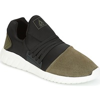 Shoes Men Low top trainers Asfvlt AREA LOW Black / Kaki
