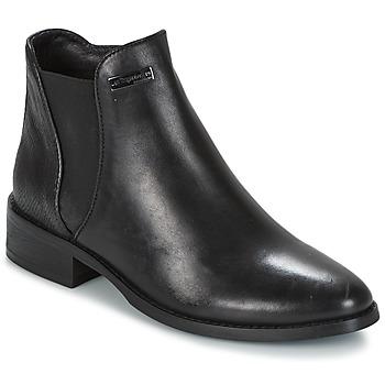 Shoes Women Mid boots Les Tropéziennes par M Belarbi NACRE Black