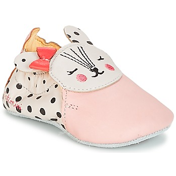 Shoes Girl Slippers Catimini REMOULADE Vte / Pink