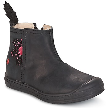 Shoes Girl Mid boots GBB ROMANE Black