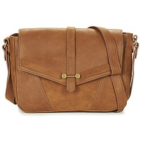 Bags Women Shoulder bags Nat et Nin PAOLA Brown