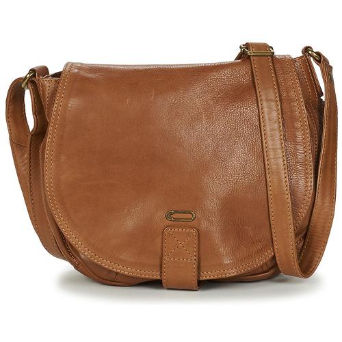Bags Women Shoulder bags Ikks WAITER Cognac