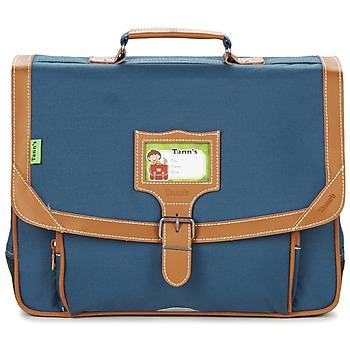 Bags Boy Satchels Tann's LES INCONTOURNABLES CARTABLE 38CM Blue