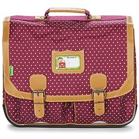 Bags Girl Satchels Tann's LES CHICS FILLES CARTABLE 41CM BORDEAUX