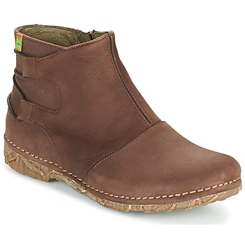 Shoes Women Mid boots El Naturalista ANGKOR Brown