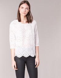 material Women Blouses Betty London GRIZ White