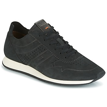 Shoes Men Low top trainers Hugo Boss Orange ADRENAL RUNN Black