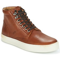 Shoes Men High top trainers Hugo Boss Orange NOIR HALB LTWS Cognac