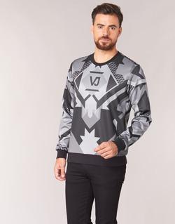 material Men sweatpants Versace Jeans B7GQA7F5 Black / Grey