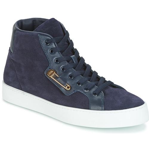 Shoes Men High top trainers John Galliano FAROM Marine