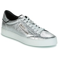 Shoes Men Low top trainers John Galliano FIUR Silver
