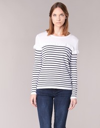 material Women jumpers Betty London HOMI Marine / White