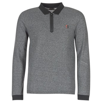 material Men long-sleeved polo shirts Yurban HERDEN Grey