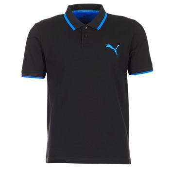 material Men short-sleeved polo shirts Puma ACTIVE HERO POLO Black