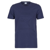 material Men short-sleeved t-shirts Puma ARCHIVE EMBOSSED LOGO TEE Marine