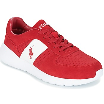 Shoes Men Low top trainers Ralph Lauren CORDELL Red