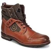 Shoes Men Mid boots Bugatti MATINE Cognac