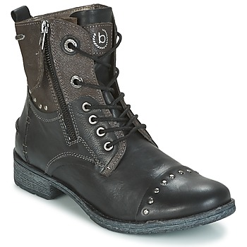 Shoes Women Mid boots Bugatti PIERA Black / Grey / Dark