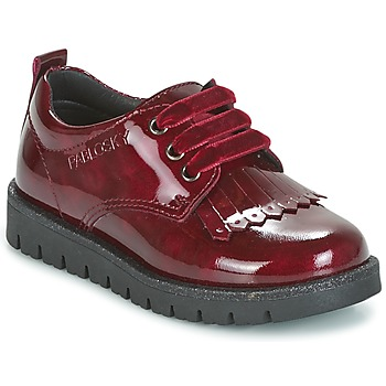 Shoes Girl Derby shoes Pablosky PONY Red