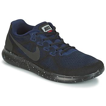 Shoes Women Running shoes Nike FREE RUN 2017 SHIELD Black / Blue