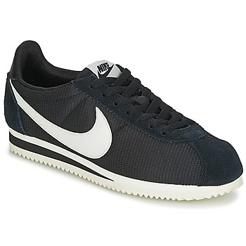 Shoes Women Low top trainers Nike CLASSIC CORTEZ NYLON W Black / White