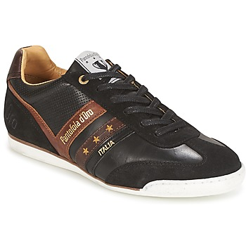 Shoes Men Low top trainers Pantofola d'Oro VASTO UOMO LOW Black