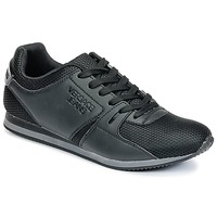 Shoes Men Low top trainers Versace Jeans DEGI Black